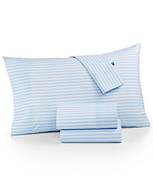 Tommy Hilfiger Novelty Print Twin Sheet Set