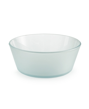 Market Street New York by Corelle Small Frosted Glass Serving Bowl