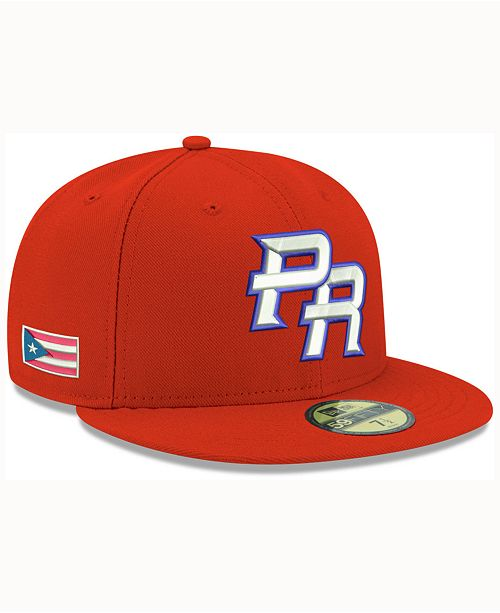 detailed look 8cc4b 1c545 ... wholesale new era. puerto rico 2017 world baseball classic 59fifty cap.  be the first