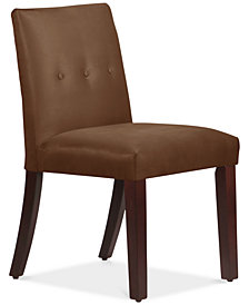 Mirrell Tapered Dining Chair with Buttons, Quick Ship