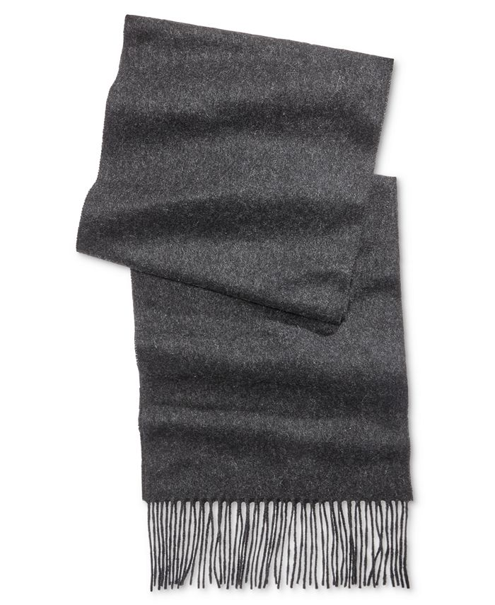 Club Room - Men's Solid Cashmere Scarf