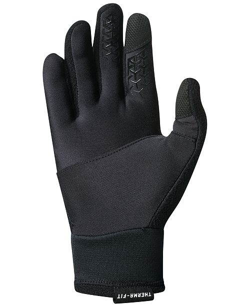Nike Gloves Touch Screen: Nike Men's Solid Therma-FIT Gloves & Reviews