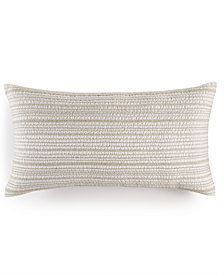 "Hotel Collection Linen Natural 14"" x 26"" Decorative Pillow, Created for Macy's"