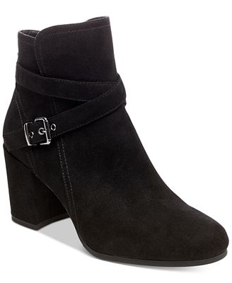 Madden Girl Righton Block-Heel Booties