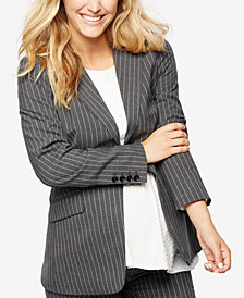 A Pea In The Pod Maternity Striped Blazer