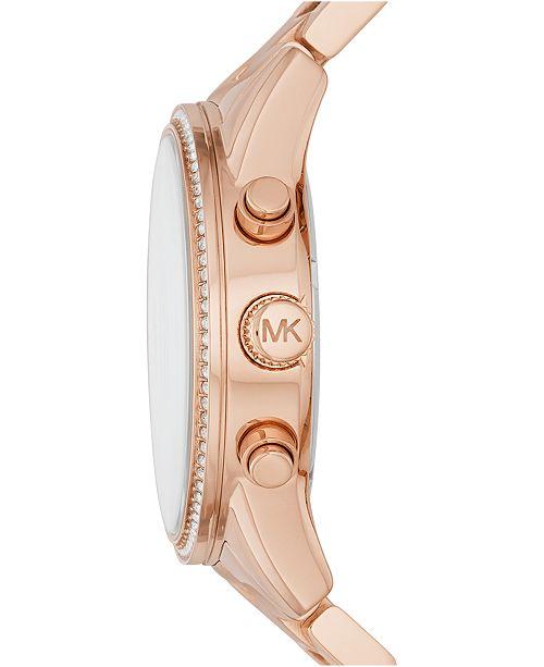Women's Chronograph Ritz Stainless Steel Bracelet Watch 37mm MK6428MK6357MK6356