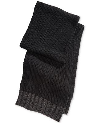 alfani s solid knit scarf only at macy s hats