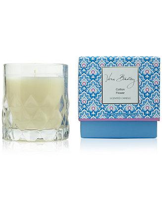 Vera Bradley Cotton Flower Candle 10 Oz Shop All Brands