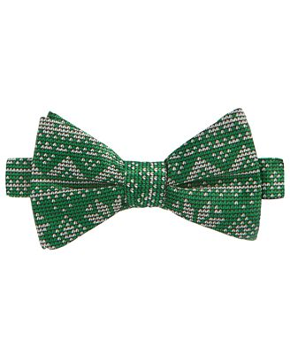 whimsical shop s fair isle snowflake bow tie only at