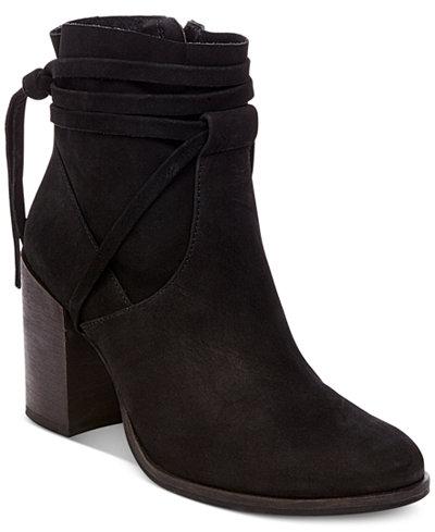 Steve Madden Women\'s Percy Block-Heel Booties - Boots - Shoes - Macy\'s