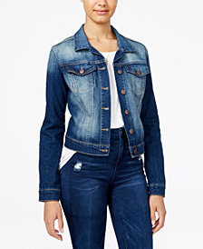 Jessica Simpson Juniors' Pixie Denim Jacket