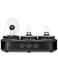 14582 Triple Slow Cooker