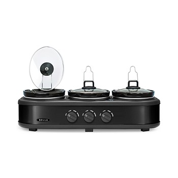 Bella 14582 Triple Slow Cooker