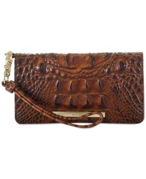 Image of Brahmin Debra Melbourne Embossed Leather Wallet