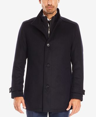 BOSS Men's Virgin Wool Cashmere Car Coat - Coats & Jackets - Men ...