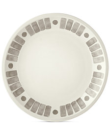 Martha Stewart Collection Heirloom Gray Salad Plate, Created for Macy's