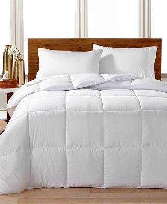 CLOSEOUT! Tommy Hilfiger Home Monogram Lattice Down Alternative Comforters, SupraLoft Fill