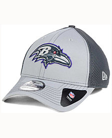 New Era Baltimore Ravens Grayed Out Neo 39THIRTY Cap