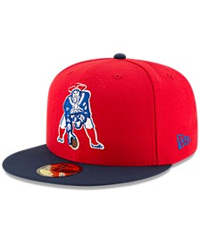 New England Patriots Team Basic 59FIFTY Fitted Cap