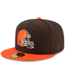 Cleveland Browns Team Basic 59FIFTY Fitted Cap
