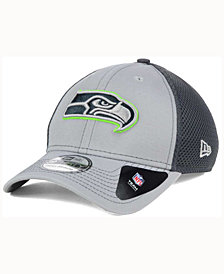 New Era Seattle Seahawks Grayed Out Neo 39THIRTY Cap