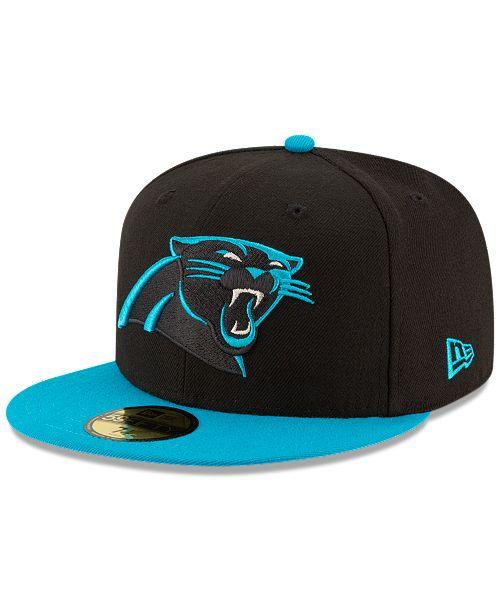 958c74fcdf3 New Era Carolina Panthers Team Basic 59FIFTY Fitted Cap - Sports Fan ...