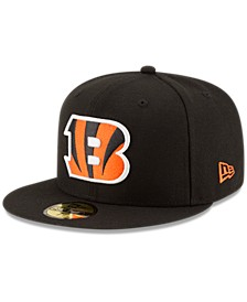 Cincinnati Bengals Team Basic 59FIFTY Fitted Cap