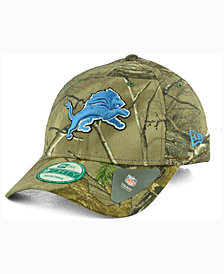 New Era Detroit Lions The League Realtree 9FORTY Cap