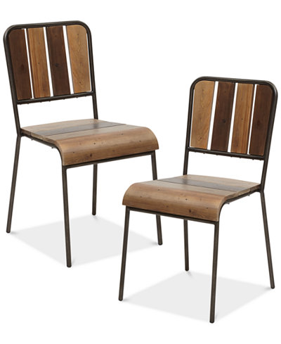 Renu Set of 2 Dining Chairs, Quick Ship