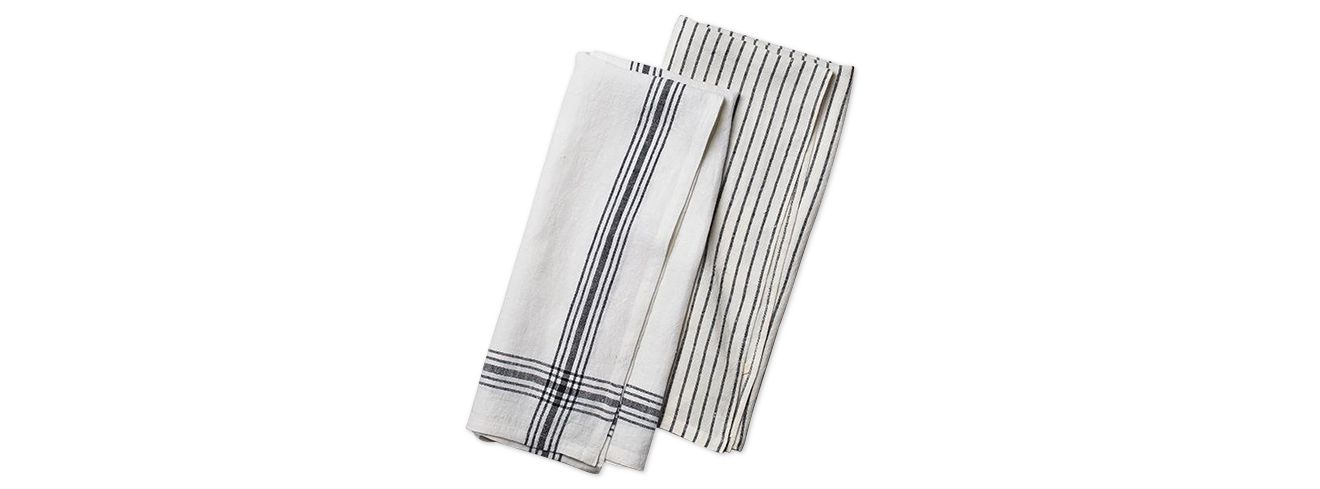 martha stewart collection set of 2 heirloom kitchen towels only