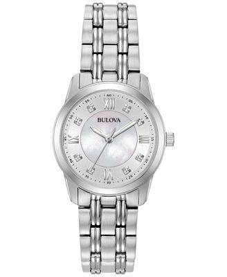 Bulova Diamond Watches Macy s