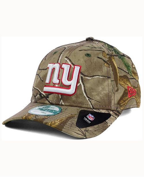 c57f0034a New Era New York Giants The League Realtree 9FORTY Cap - Sports Fan ...