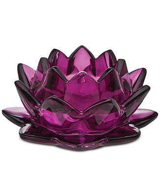 Godinger Lighting by Design Water Lily Pillar Candle ...