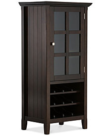 Avery High Storage Wine Rack, Quick Ship
