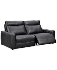 Black Sofas & Couches - Macy\'s