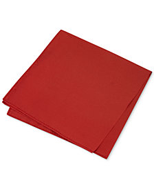 Club Room Men's Simple Solid Pocket Square, Created for Macy's