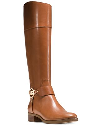 MICHAEL Michael Kors Fulton Harness Riding Boots
