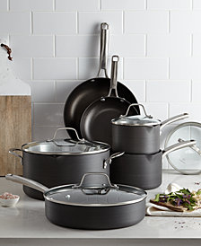 calphalon classic nonstick 10 pc cookware set created for macys
