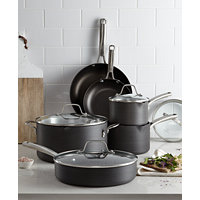 Calphalon Classic Nonstick 10-Pc. Cookware Set + Free 12-in Pan
