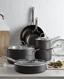 Calphalon Classic Nonstick 10-Pc. Cookware Set, Created for Macy's