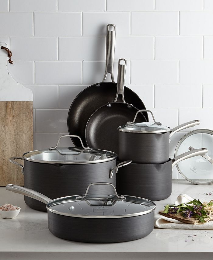 Calphalon - Classic Nonstick 10-Pc. Cookware Set, Only at Macy's