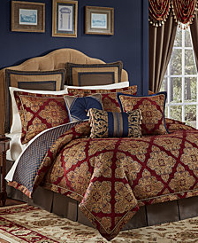 Croscill Sebastian Reversible Queen 4-Pc. Comforter Set