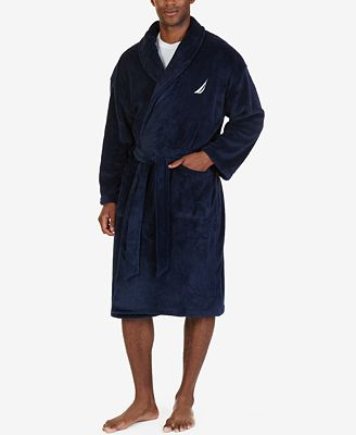Nautica Men's Shawl Collar Robe