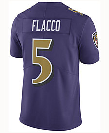 Nike Men's Joe Flacco Baltimore Ravens Limited Color Rush Jersey