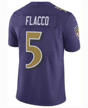 cheaper 460fa 0d2a8 Nike Men's Joe Flacco Baltimore Ravens Limited Color Rush Jersey