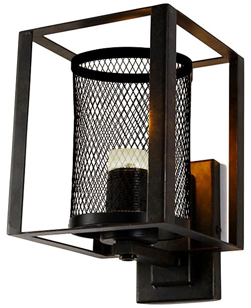 Dale Tiffany Dixon Bronze Wall Sconce