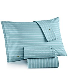 Printed Cotton Percale Twin XL Sheet Set