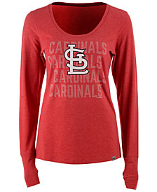 '47 Brand Women's St. Louis Cardinals Forward Long-Sleeve T-Shirt