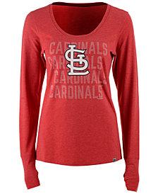 '47 Brand Women's St. Louis Cardinals Forward Long-Sleeve T-Shirt