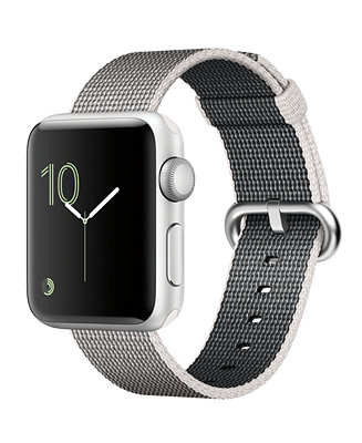 Apple Watch Series 2 38mm Silver Tone Aluminum Case With
